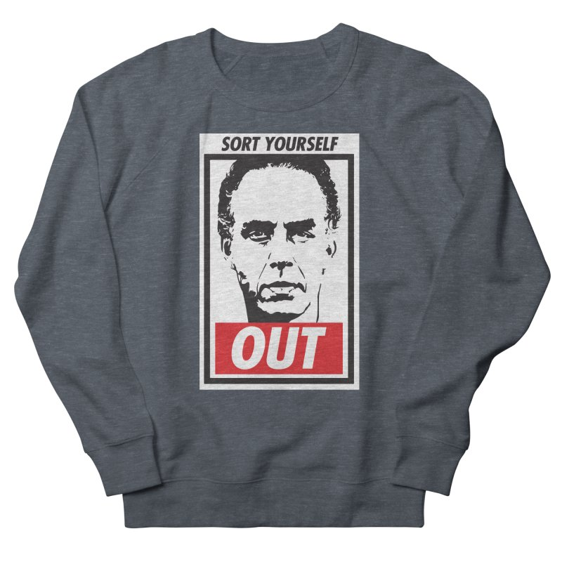 Sort Yourself Out Men's Sweatshirt by Shirts of Meaning