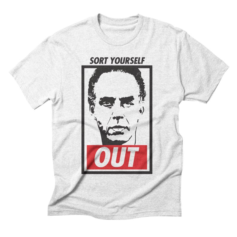 Sort Yourself Out Men's Triblend T-shirt by Shirts of Meaning