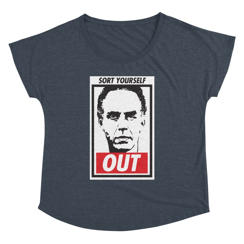 Sort Yourself Out Women's Dolman by Shirts of Meaning