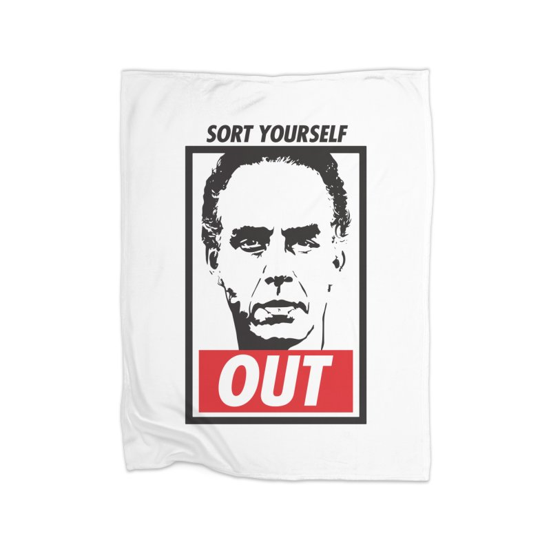 Sort Yourself Out Home Blanket by Shirts of Meaning