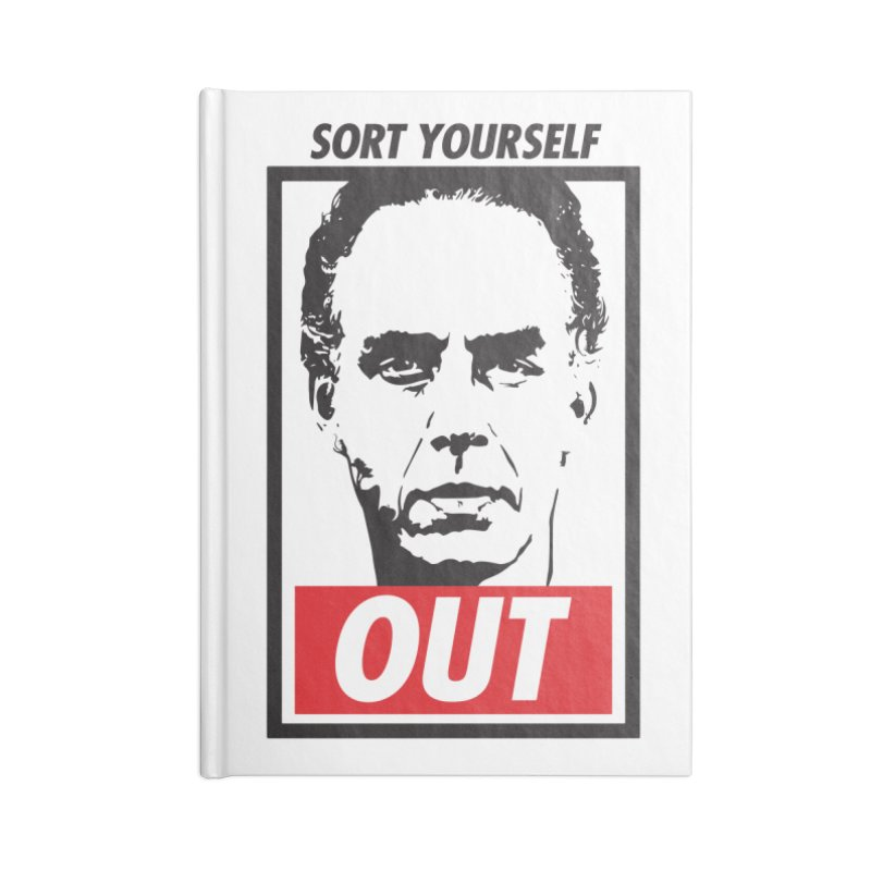 Sort Yourself Out Accessories Notebook by Shirts of Meaning