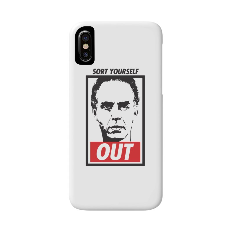 Sort Yourself Out Accessories Phone Case by Shirts of Meaning