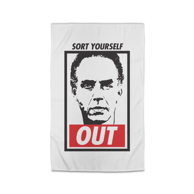 Sort Yourself Out Home Rug by Shirts of Meaning