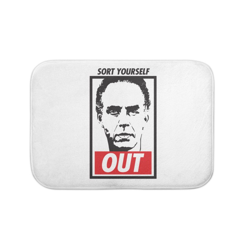 Sort Yourself Out Home Bath Mat by Shirts of Meaning