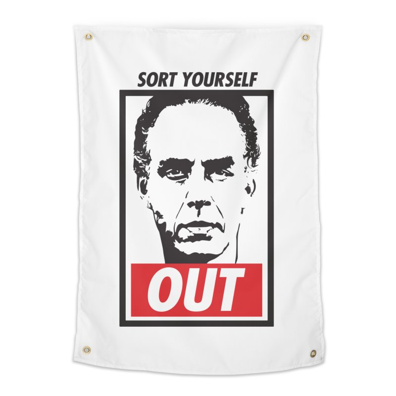 Sort Yourself Out Home Tapestry by Shirts of Meaning