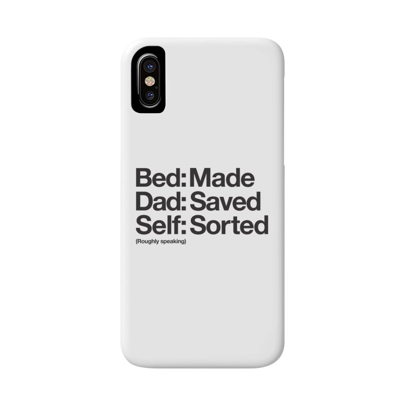 Bucket List Accessories Phone Case by Shirts of Meaning