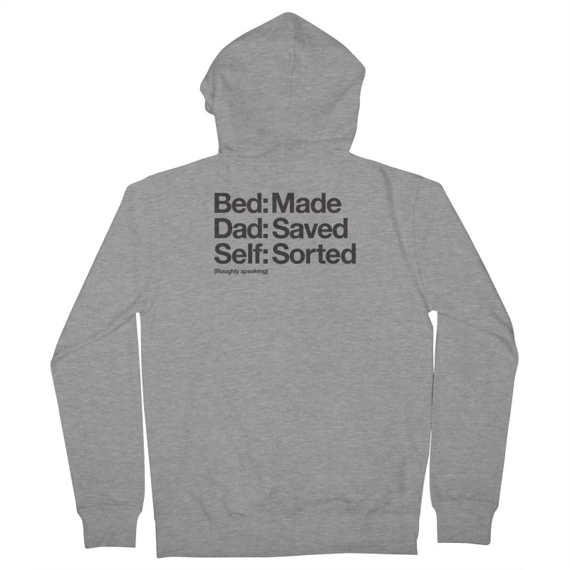 Bucket List Men's Zip-Up Hoody by Shirts of Meaning