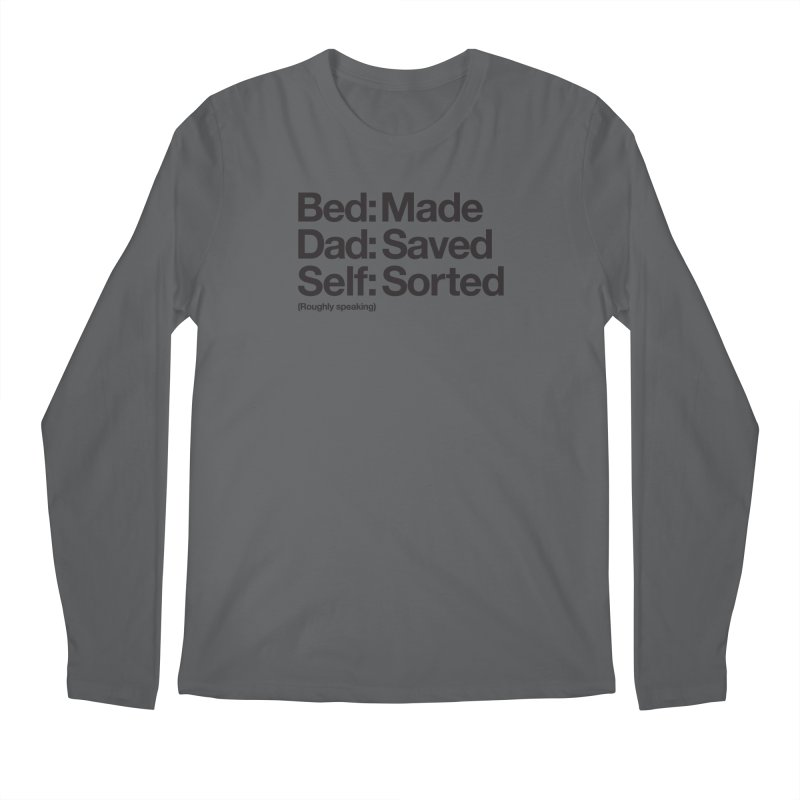 Bucket List Men's Longsleeve T-Shirt by Shirts of Meaning
