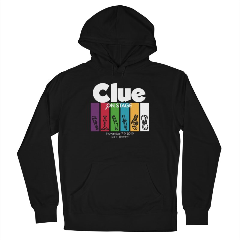 Clue: On Stage! Men's French Terry Pullover Hoody by