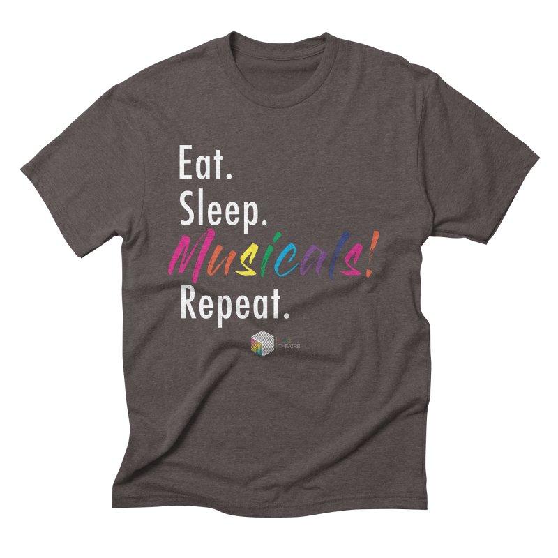 Eat. Sleep. Musicals! Repeat. Men's T-Shirt by