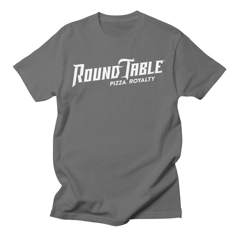 RTP Diagonal Pizza Royalty WHITE Men's T-Shirt by Round Table Pizza