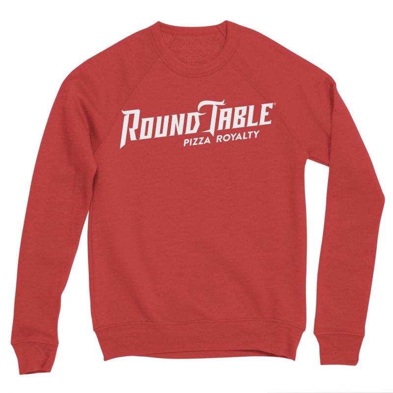 RTP Diagonal Pizza Royalty WHITE Women's Sweatshirt by Round Table Pizza
