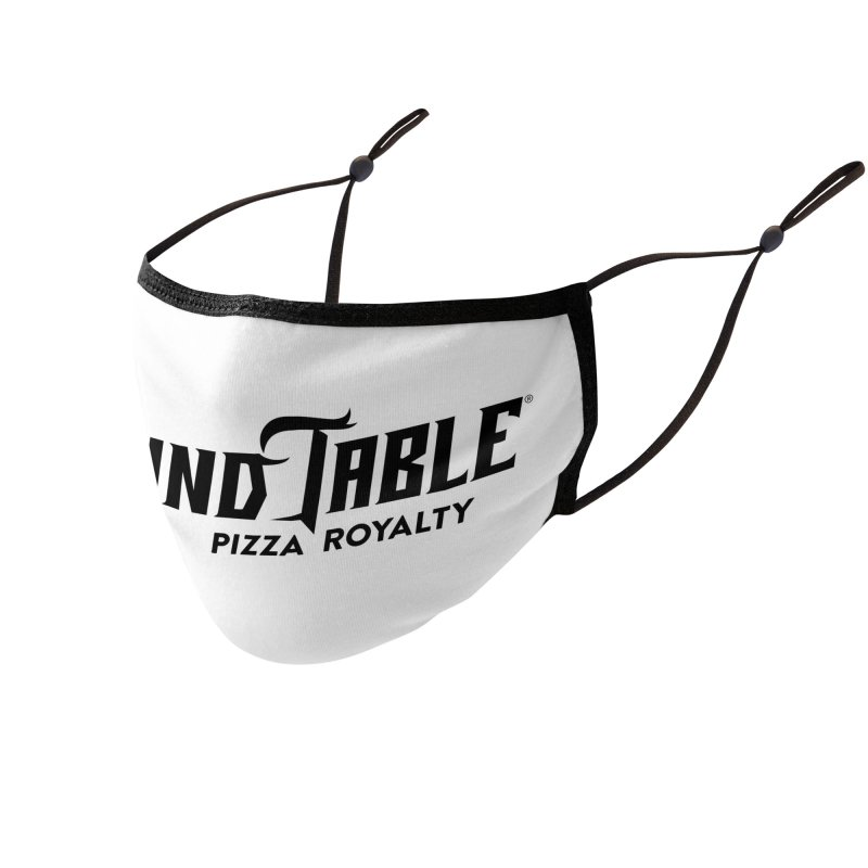 Round Table Pizza Royalty Accessories Face Mask by Round Table Pizza