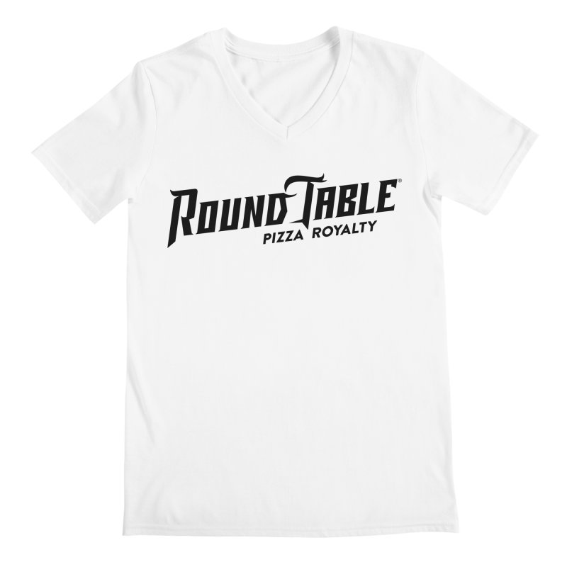 Round Table Pizza Royalty Men's V-Neck by Round Table Pizza