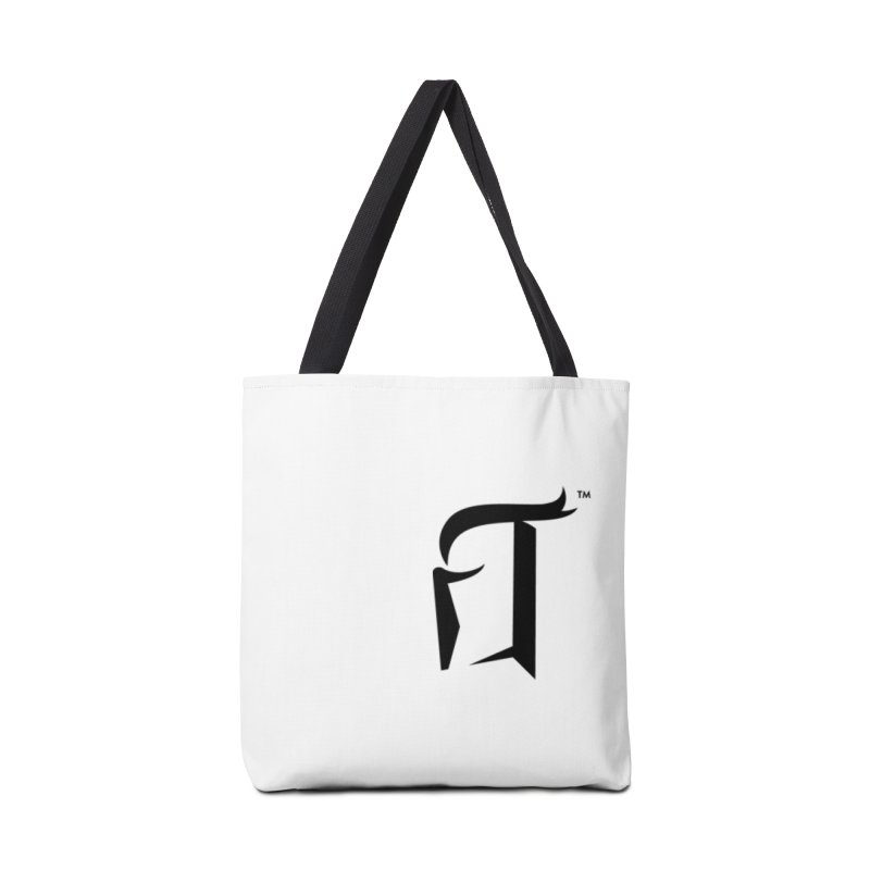 RTP Knight Icon BLACK Accessories Bag by Round Table Pizza