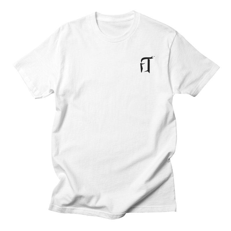 RTP Knight Icon BLACK Men's T-Shirt by Round Table Pizza