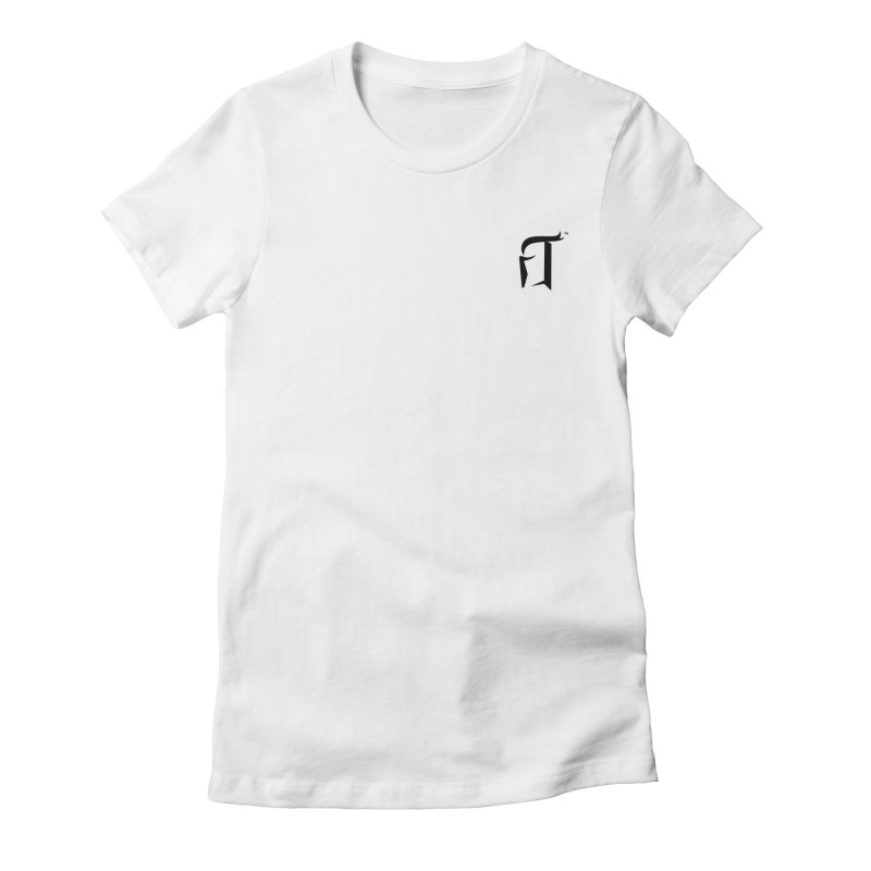 RTP Knight Icon BLACK Women's T-Shirt by Round Table Pizza