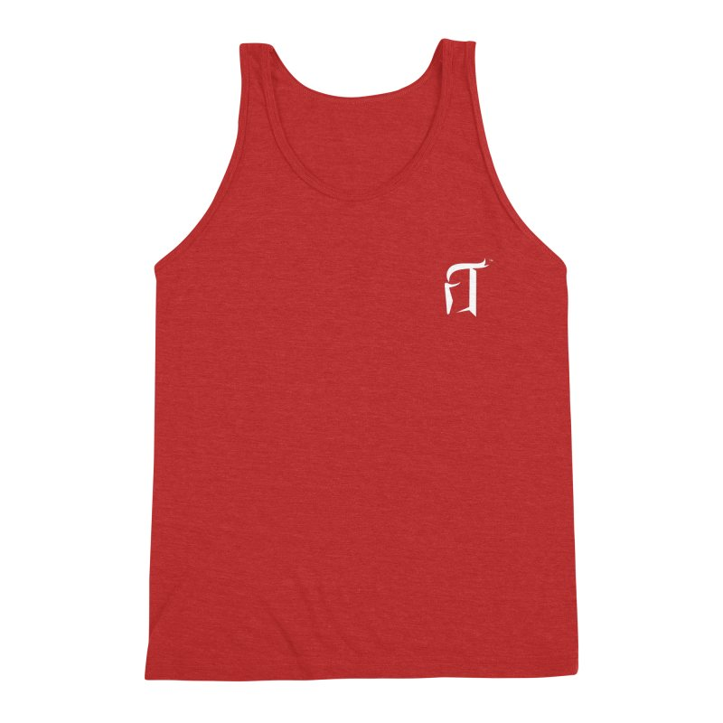 RTP Knight Icon WHITE Men's Tank by Round Table Pizza
