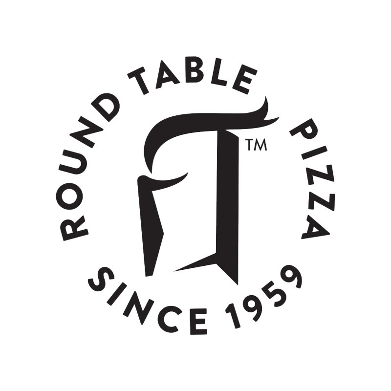 RTP Round Logo Black Accessories Magnet by Round Table Pizza