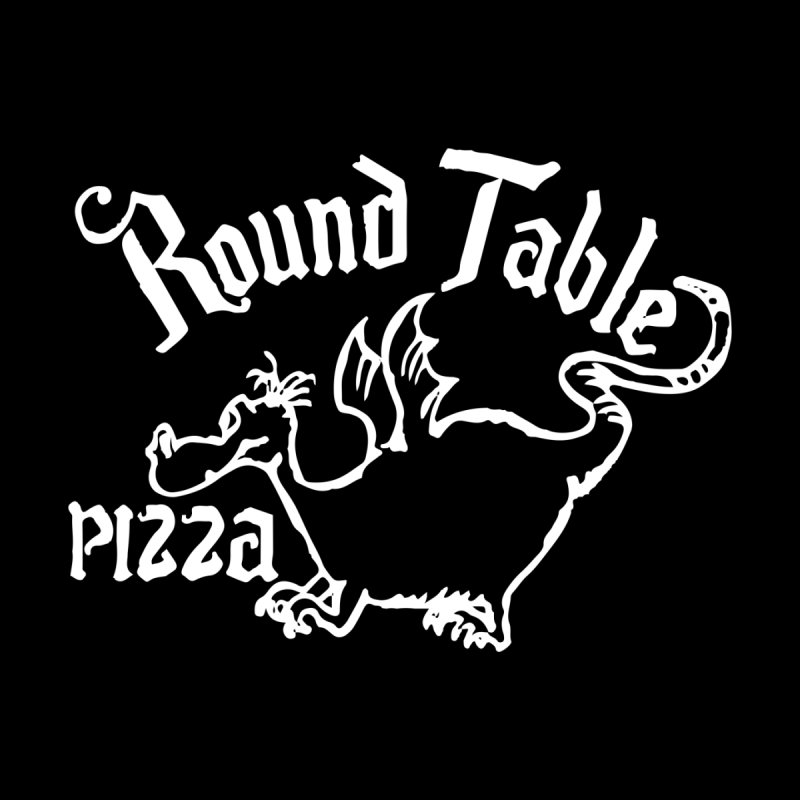 Round Table Dragon Men's T-Shirt by Round Table Pizza