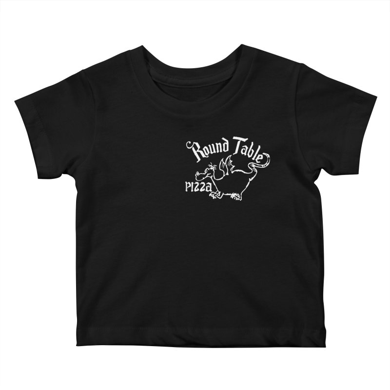 Round Table Dragon Kids Baby T-Shirt by Round Table Pizza