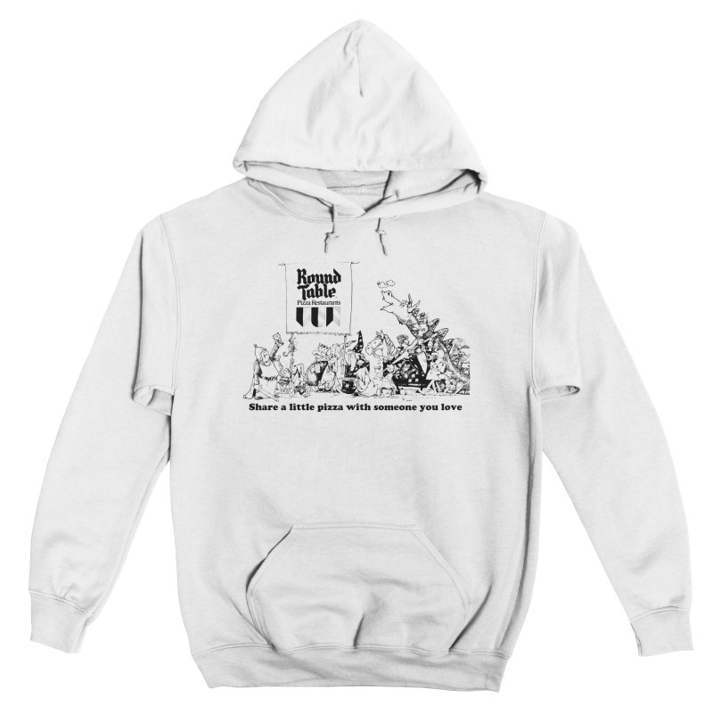 Share a Little Pizza Men's Pullover Hoody by Round Table Pizza