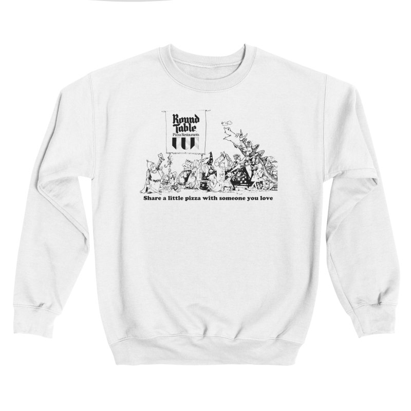 Share a Little Pizza Men's Sweatshirt by Round Table Pizza