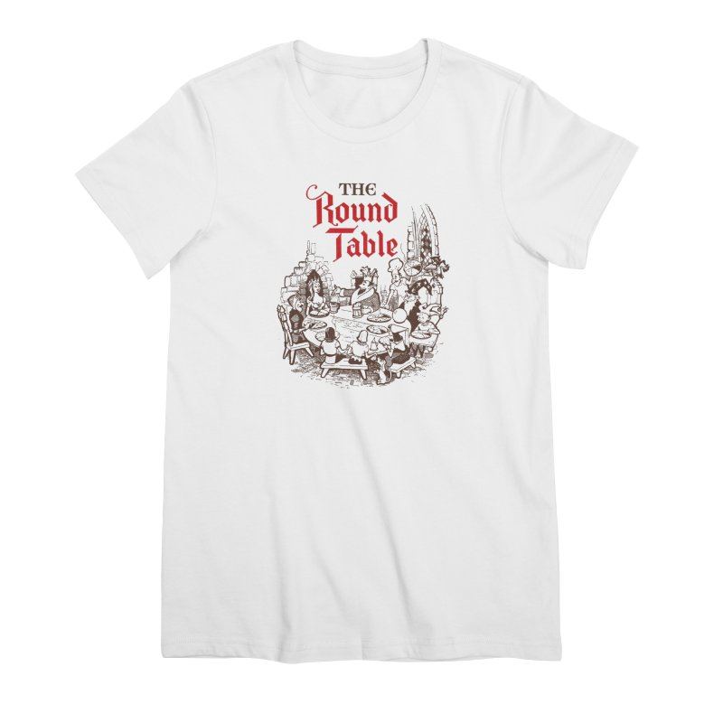Knights of The Round Table Women's T-Shirt by Round Table Pizza