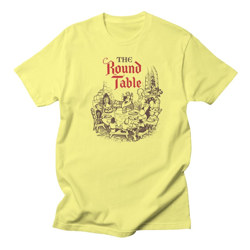 Knights of The Round Table Men's T-Shirt by Round Table Pizza