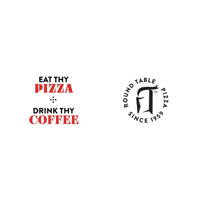 EAT THY PIZZA Accessories Mug by Round Table Pizza