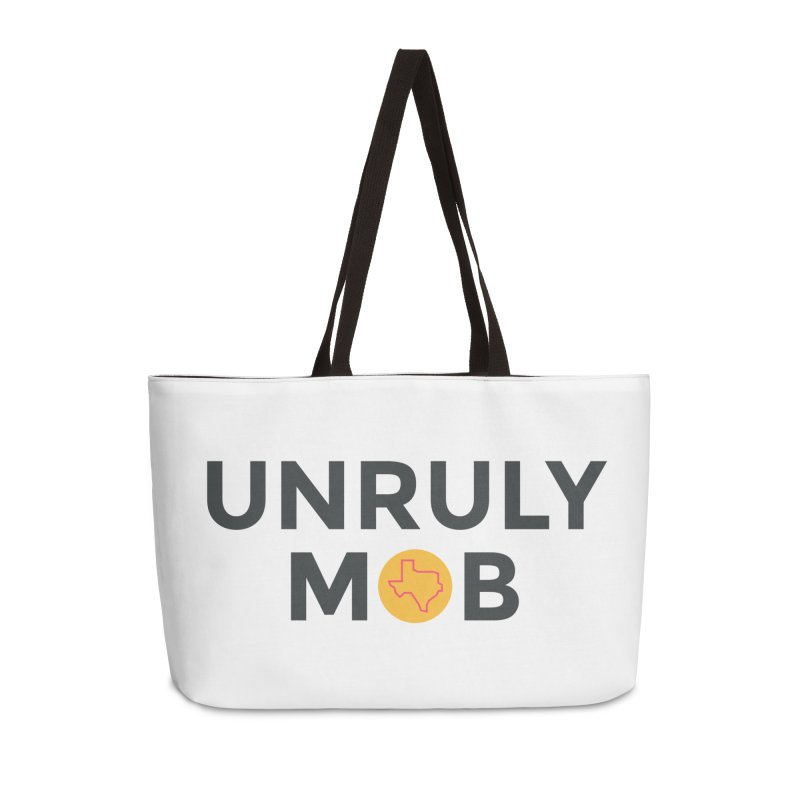 The Unruly Mob, The Rabble Podcast Accessories Weekender Bag Bag by Rouser