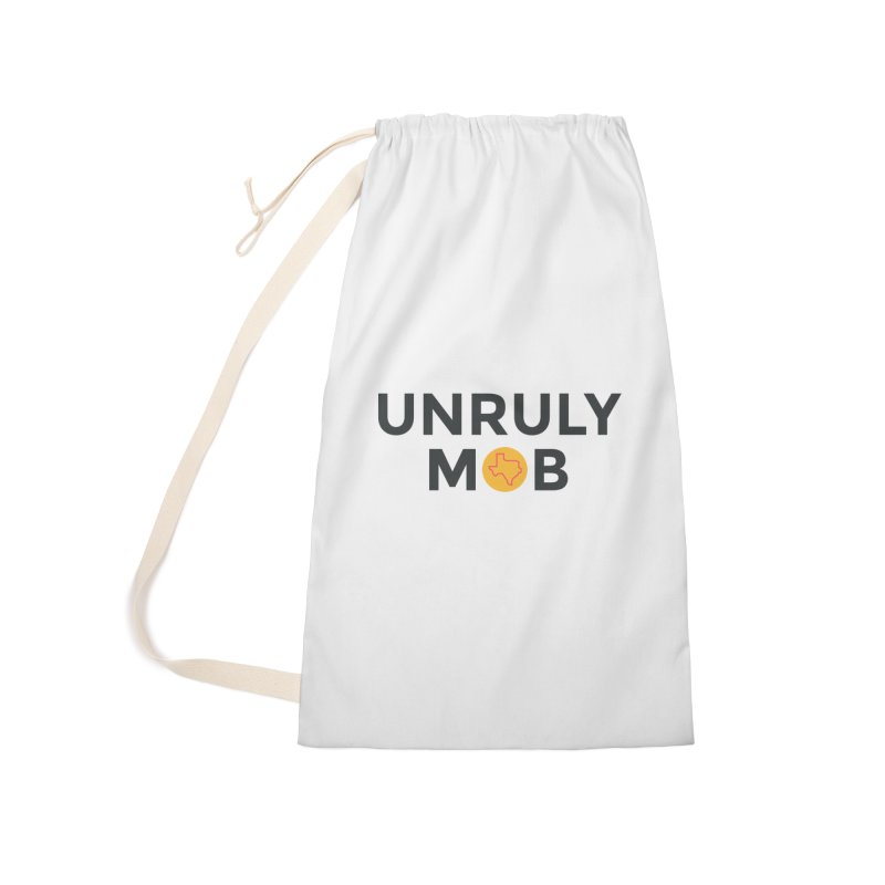 The Unruly Mob, The Rabble Podcast Accessories Laundry Bag Bag by Rouser