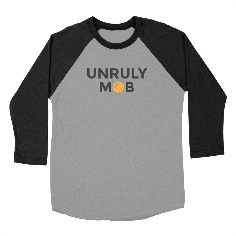 The Unruly Mob, The Rabble Podcast Men's Longsleeve T-Shirt by Rouser