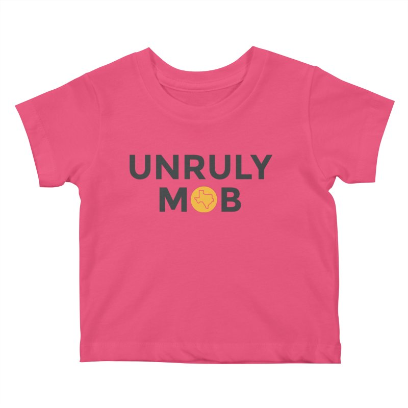 The Unruly Mob, The Rabble Podcast Kids Baby T-Shirt by Rouser