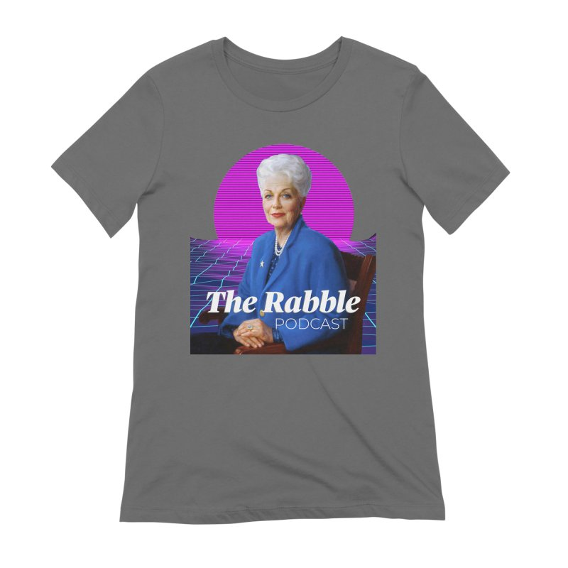 Ann Richards Pink Sun, The Rabble Podcast Women's T-Shirt by Rouser