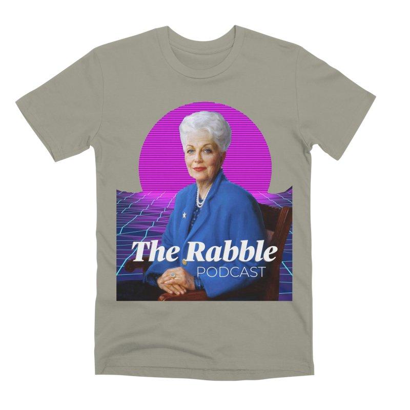 Ann Richards Pink Sun, The Rabble Podcast Men's Premium T-Shirt by Rouser