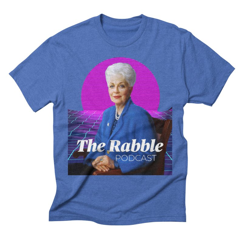 Ann Richards Pink Sun, The Rabble Podcast Men's T-Shirt by Rouser