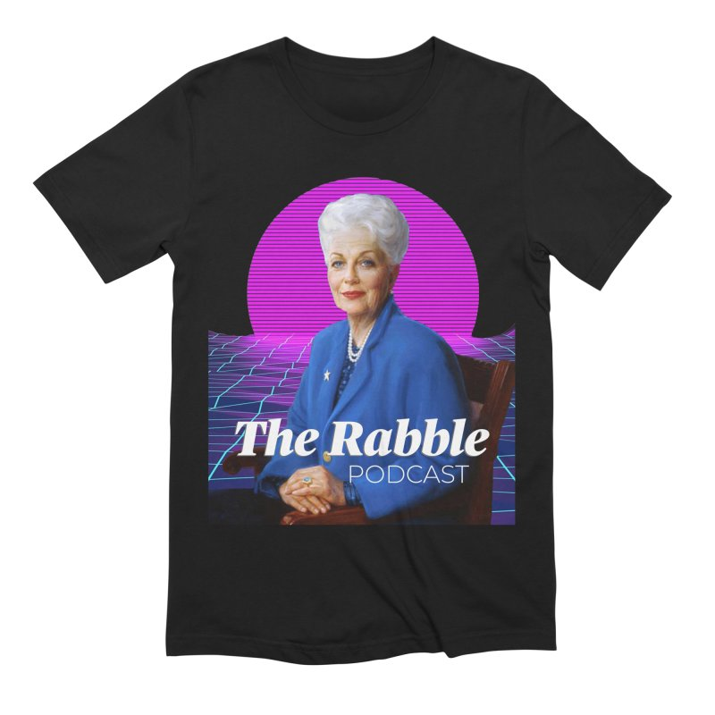 Ann Richards Pink Sun, The Rabble Podcast Men's Extra Soft T-Shirt by Rouser