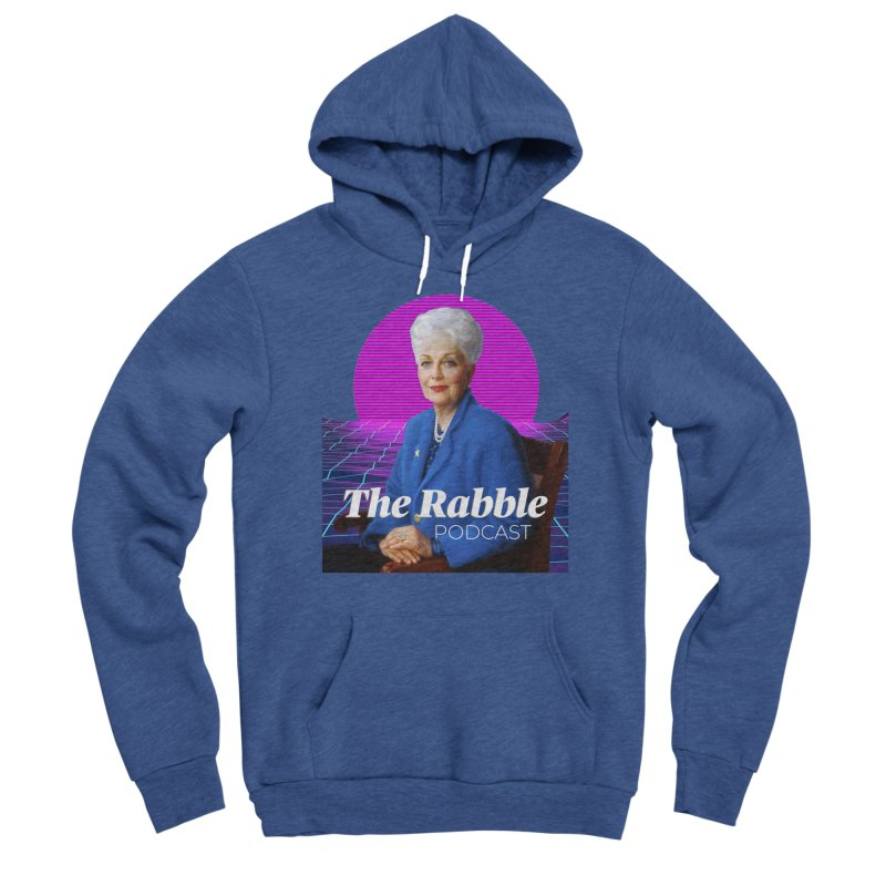 Ann Richards Pink Sun, The Rabble Podcast Women's Pullover Hoody by Rouser