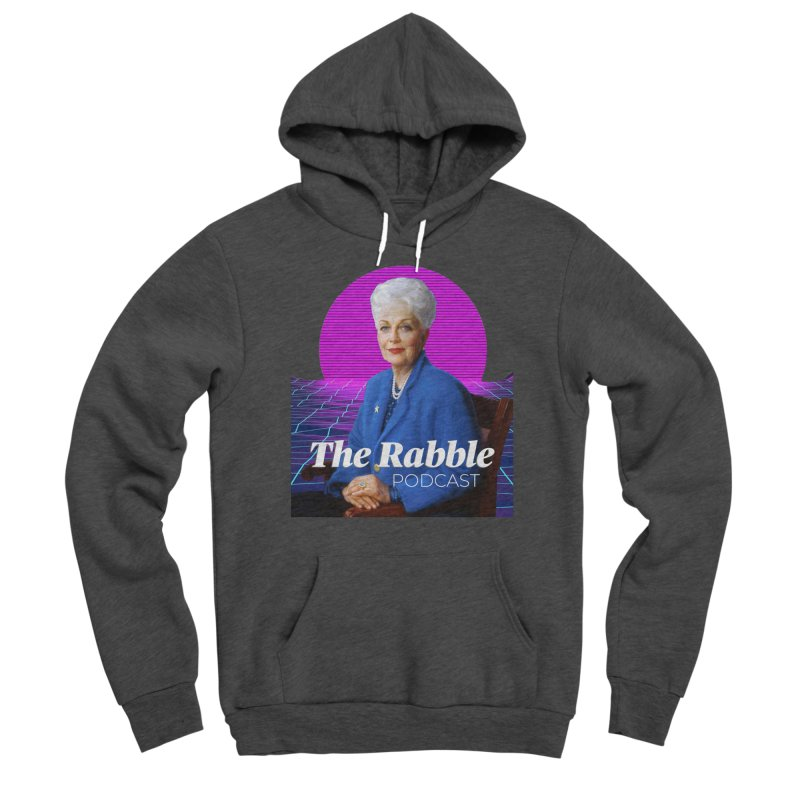 Ann Richards Pink Sun, The Rabble Podcast Men's Pullover Hoody by Rouser