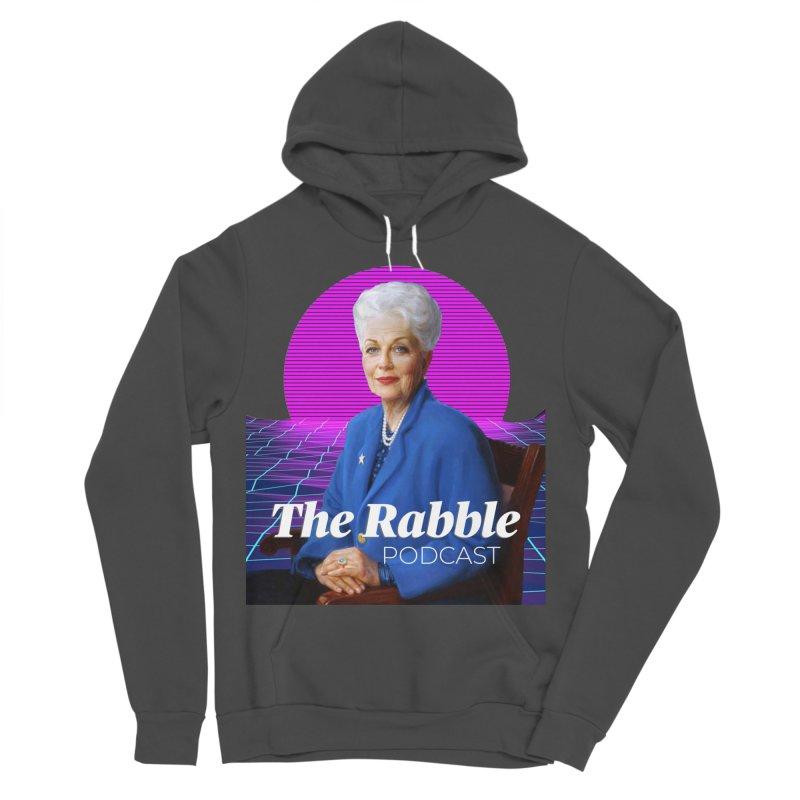 Ann Richards Pink Sun, The Rabble Podcast Women's Sponge Fleece Pullover Hoody by Rouser