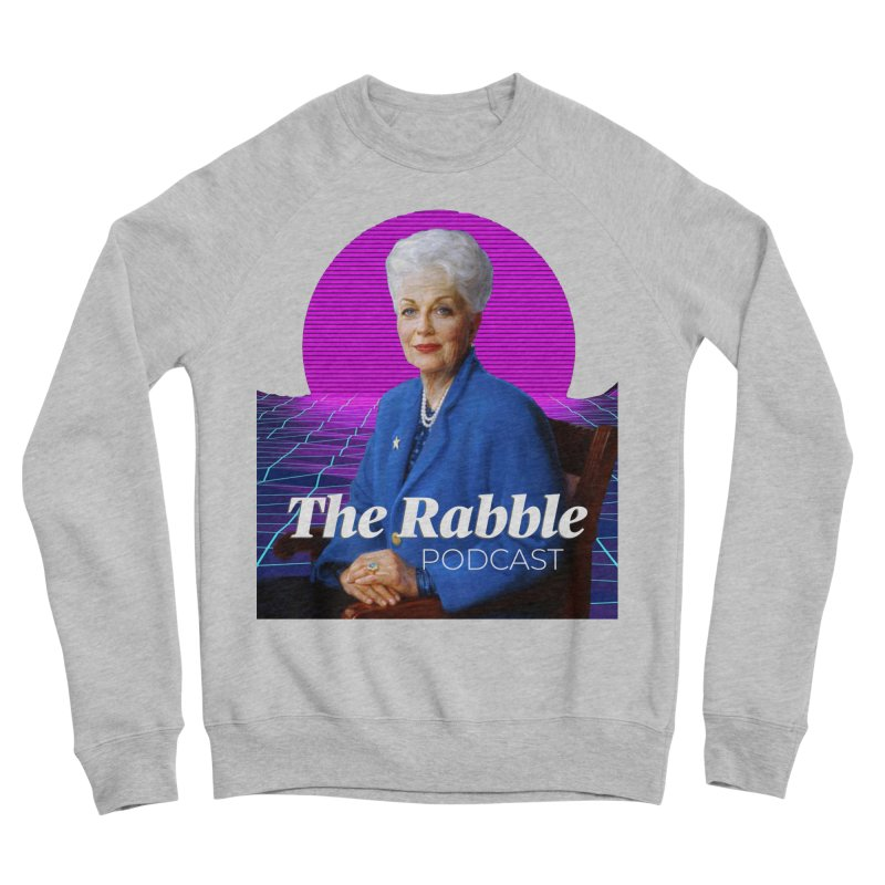Ann Richards Pink Sun, The Rabble Podcast Women's Sponge Fleece Sweatshirt by Rouser