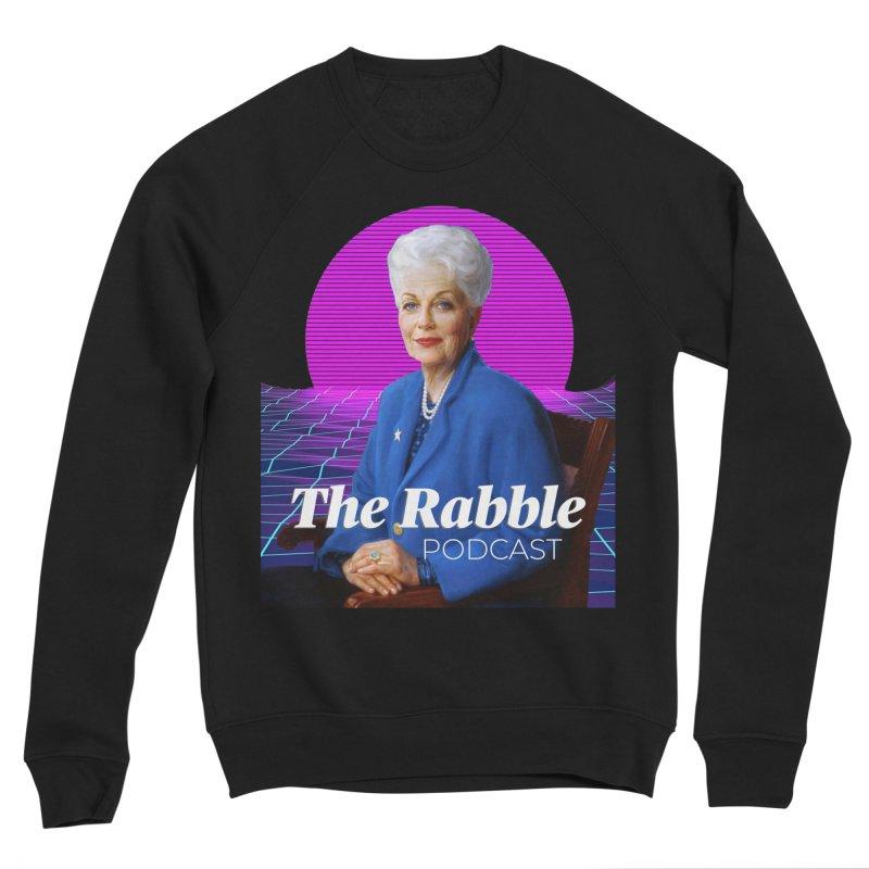 Ann Richards Pink Sun, The Rabble Podcast Women's Sweatshirt by Rouser