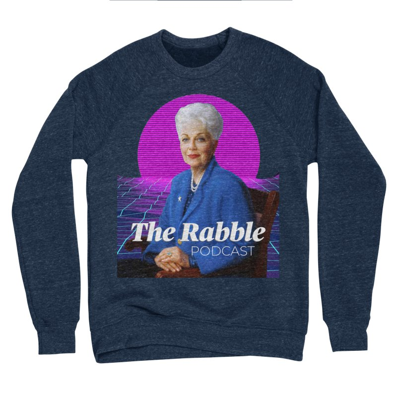 Ann Richards Pink Sun, The Rabble Podcast Men's Sponge Fleece Sweatshirt by Rouser