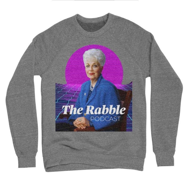 Ann Richards Pink Sun, The Rabble Podcast Women's Sponge Fleece Sweatshirt by Rouser