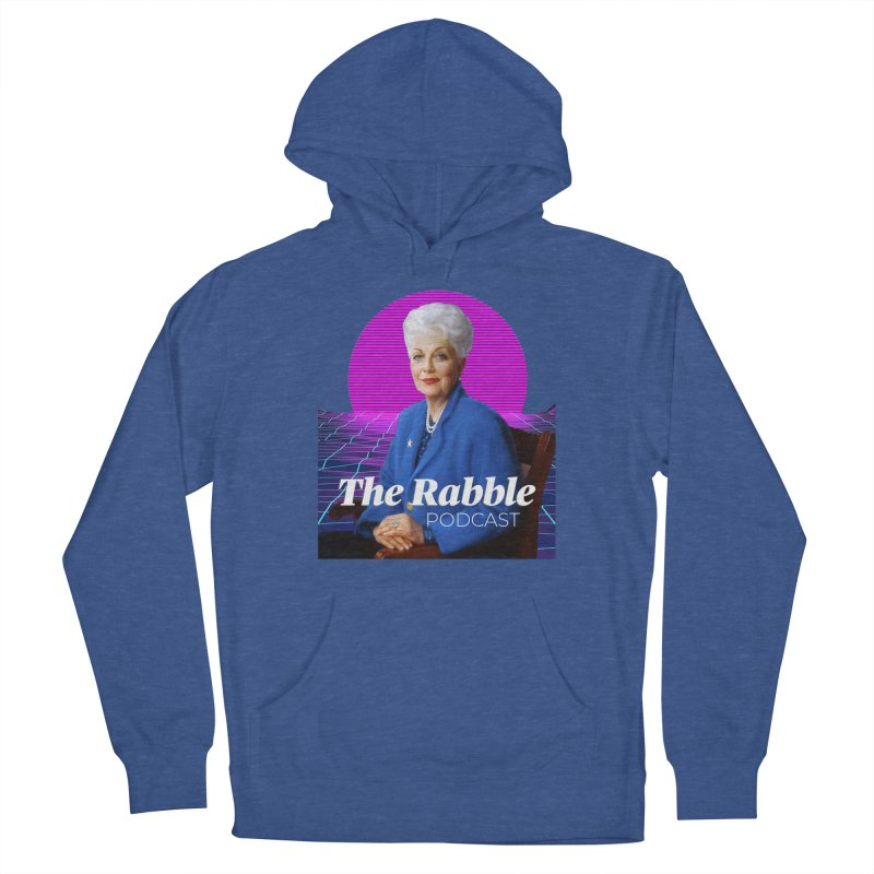 Ann Richards Pink Sun, The Rabble Podcast Women's French Terry Pullover Hoody by Rouser