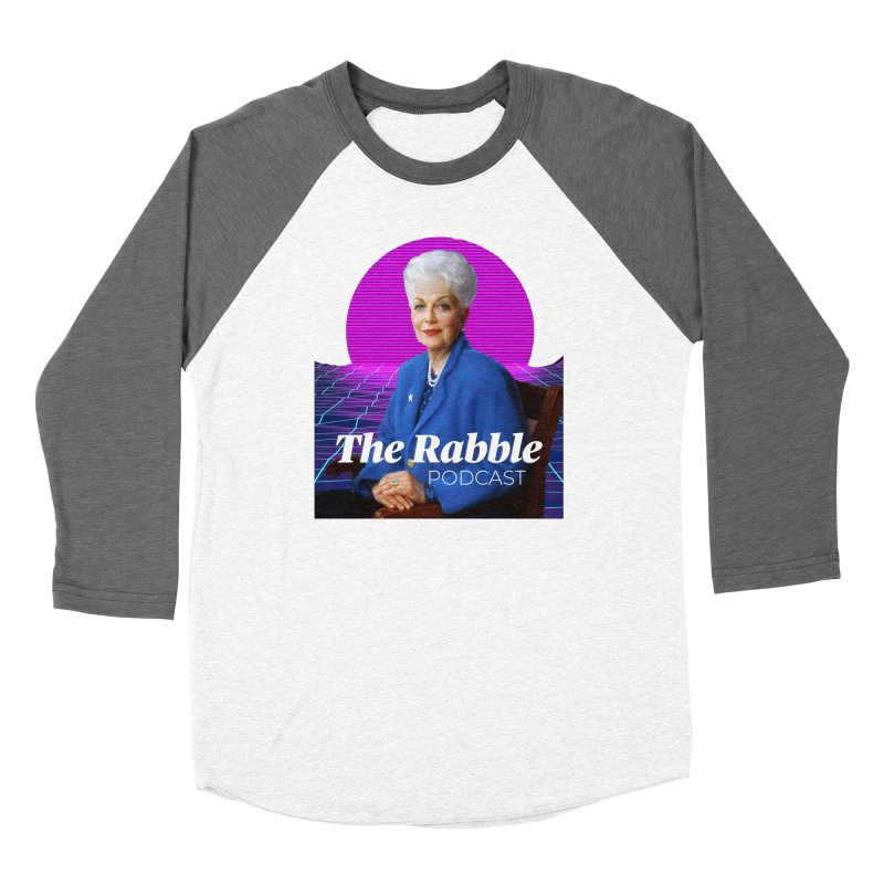 Ann Richards Pink Sun, The Rabble Podcast Women's Longsleeve T-Shirt by Rouser