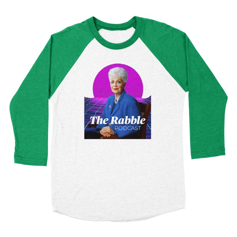 Ann Richards Pink Sun, The Rabble Podcast Men's Longsleeve T-Shirt by Rouser