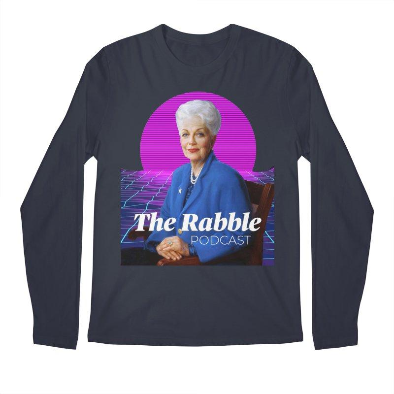 Ann Richards Pink Sun, The Rabble Podcast Men's Regular Longsleeve T-Shirt by Rouser
