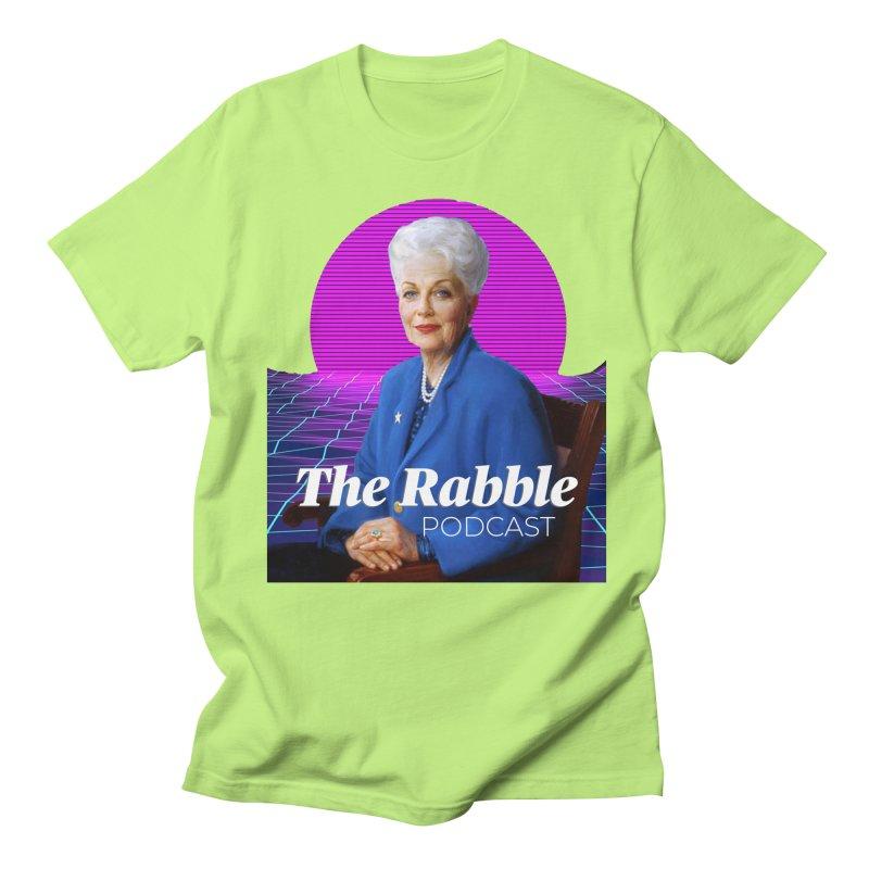 Ann Richards Pink Sun, The Rabble Podcast Women's Regular Unisex T-Shirt by Rouser